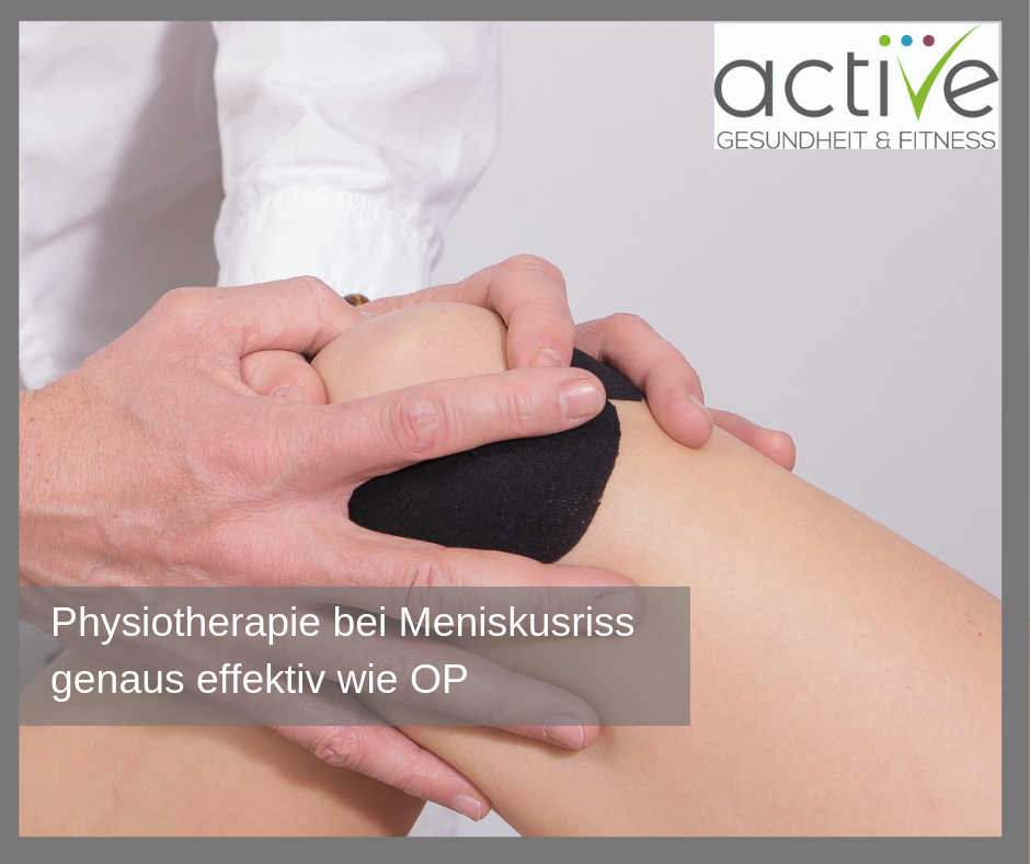 Physiotherapie so effektiv wie OP
